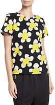Marc Jacobs Daisy-Print Jersey T-Shirt