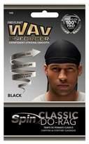 Wavenforcer Firstline® Wav Enforcer® Spin Classic Do-Rag Headband - Black