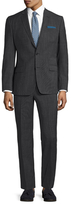 Versace Birdseye Notch Lapel Suit