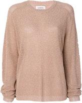 Laneus sheer sweater