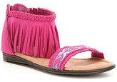 Minnetonka Girls' Coco Fringe Sandals