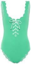 Marysia Swim Exclusive to Mytheresa Palm Springs reversible gingham swimsuit