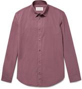 Maison Margiela - Slim-fit Garment-dyed Cotton Shirt
