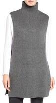 Halogen Mock Neck Knit Sleeveless Pullover