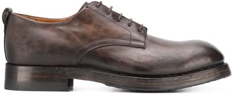 Silvano Sassetti Burnished Lace-Up Shoes