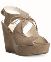 Fergalicious Vicky Platform Lace-Up Sandals