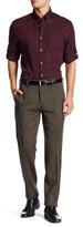 """Louis Raphael Solid Tweed Wool Blend Pant - 30-34"""" Inseam"""