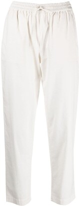 Semi-Couture Cropped Drawstring Trousers