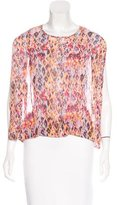 IRO Sleeveless Printed Blouse