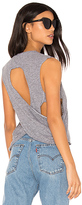 Lanston Drape Back Tank in Gray. - size L (also in )