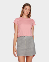 RVCA Bizness Mini Skirt