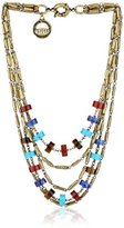 Giles & Brother Giles and Brother Multi-Color Stone Bundle Necklace, 18""