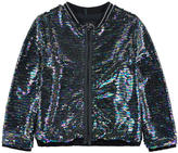 Ikks Sequined bomber jacket