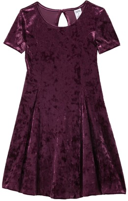 Harper Canyon Velvet Party Dress (Little Girls & Big Girls)