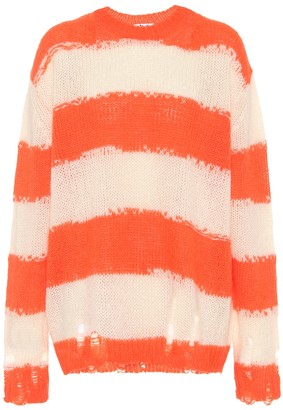 Acne Studios Striped oversized sweater