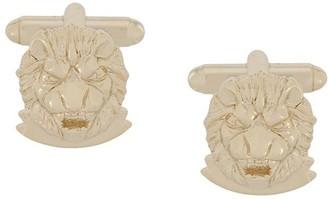 Billionaire Lion Cufflinks