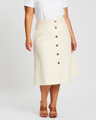 Atmos & Here Willow Midi Skirt