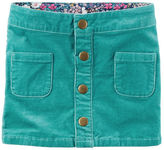 Carter's Button-Front Corduroy Skirt