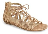 Kenneth Cole New York Girl's Bright Ghillie Sandal