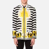 Versace Collection All Over Print Shirt Senape