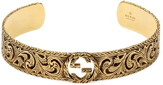 Gucci Yellow gold bracelet with InterlockingG