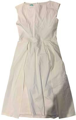 Jil Sander White Cotton - elasthane Dresses