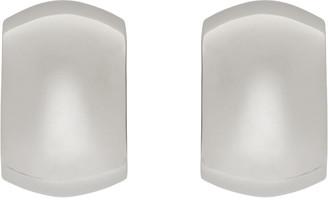 Marni Silver Oversized Curve Earrings