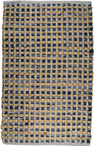 Park B SmithTM Cotton and Jute Checkered Rectangular Rug