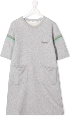 Bonpoint Chest Logo Dress