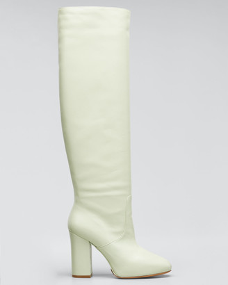 Dries Van Noten Tall Shaft Leather Boots