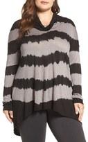 Lucky Brand Plus Size Women's Cowl Neck Tunic