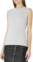 Reiss Jena Metallic Top