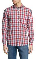 Ben Sherman Checked Regular-Fit Cotton Shirt