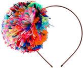 Eugenia Kim pom pom headband