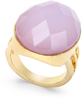 INC International Concepts Gold-Tone Pink Crystal Cocktail Ring, Only at Macy's