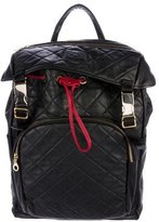 Del Toro Quilted Leather Backpack
