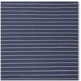 Williams-Sonoma Williams Sonoma Mini Stripe Flatweave Rug, Blue