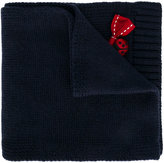 Dolce & Gabbana ladybird bow scarf - kids - Virgin Wool - One Size
