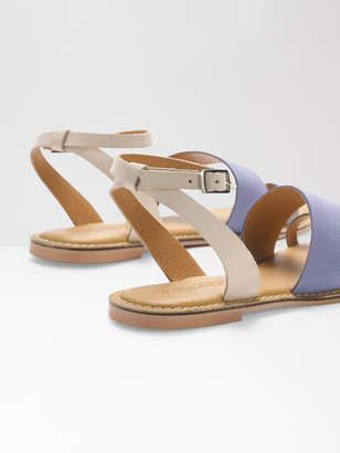 White Stuff Asymmetric Strap Sandal