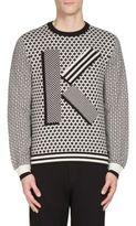 Kenzo Fair Isle K Logo Sweatshirt