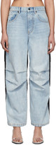 Alexander Wang Blue and Black Pack Mix Jeans