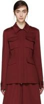 Yang Li Red Woven M65 Jacket