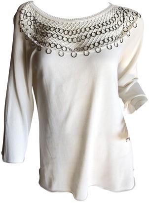 Christian Dior White Cotton Knitwear for Women Vintage