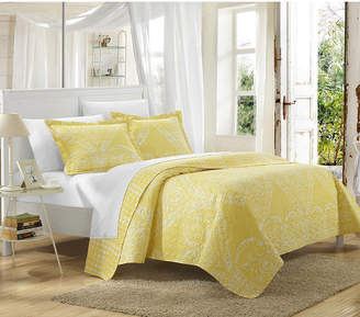 Chic Home Napoli 3 Piece Queen Quilt Set Bedding