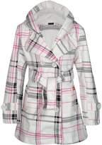Noroze Womens Check Hood Coat ( (UK 8), )