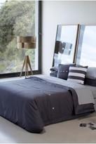 Lacoste Brushed Twill Comforter Set - Plum Kitten