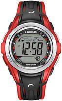 Head Unisex Black Strap Watch-He-108-03