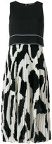 Proenza Schouler pleated detail dress