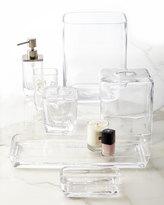 Waterworks Studio Clear Glass Wastebasket