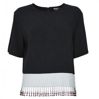 Donna Karan Black Cotton Knitwear for Women